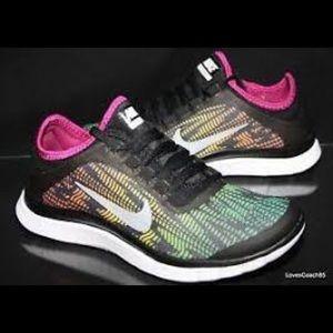 Nike Free 3.0 multicolor sneakers